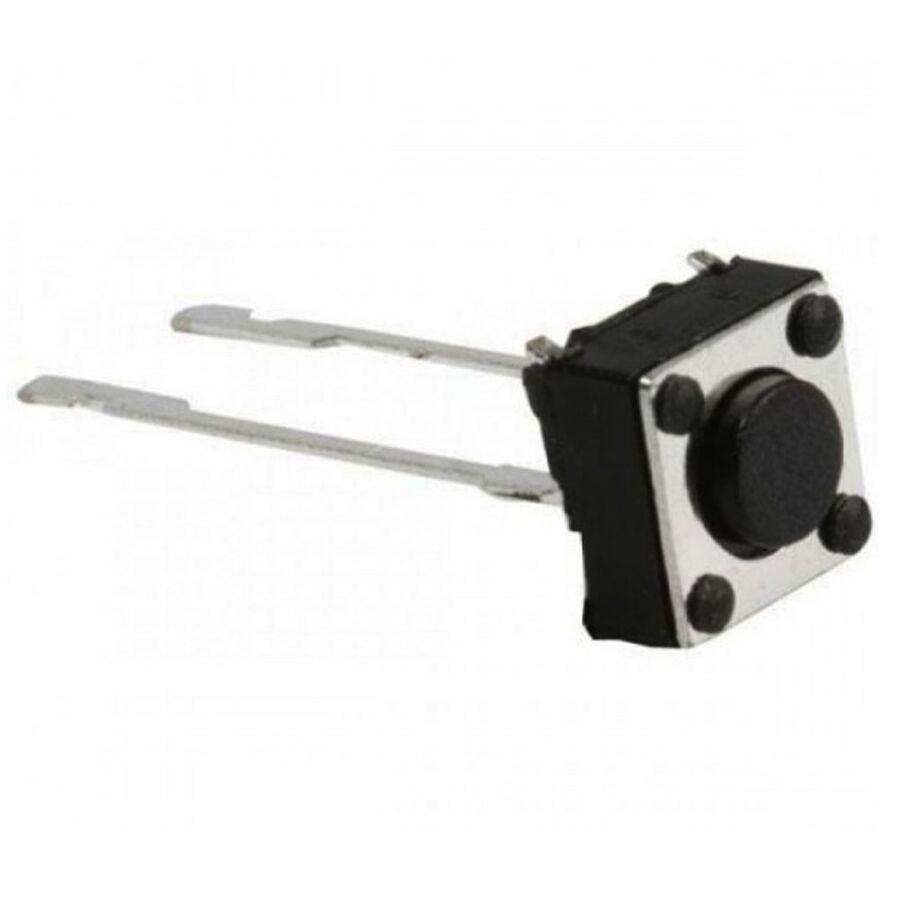 6x6 5.2mm Tach Buton (2 Bacak)