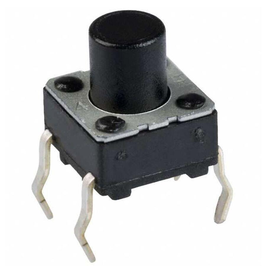 6x6 4.3mm Tach Buton (4 Bacak)