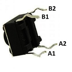 6x6 5mm Tach Buton (4 Bacak) - Thumbnail