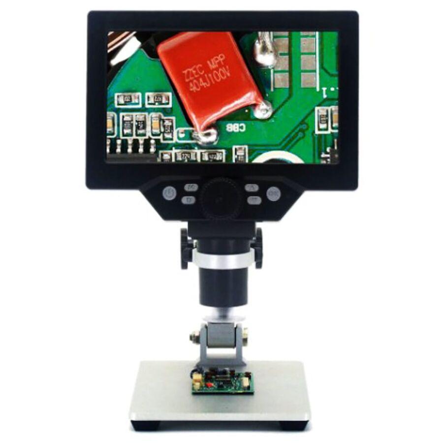 7 inch Ekranlı 12MP 1-1200X Usb Dijital Mikroskop
