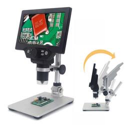 7 inch Ekranlı 12MP 1-1200X Usb Dijital Mikroskop - Thumbnail