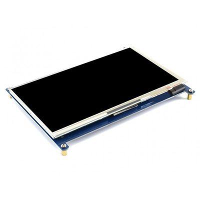 WaveShare - 7 inç HDMI IPS LCD Ekran (C) -1024×600 - Renkli Ekran Muhafazalı