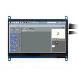 7 inch HDMI LCD (H) IPS Kapasitif Dokunmatik Ekran- 1024x600 - Thumbnail