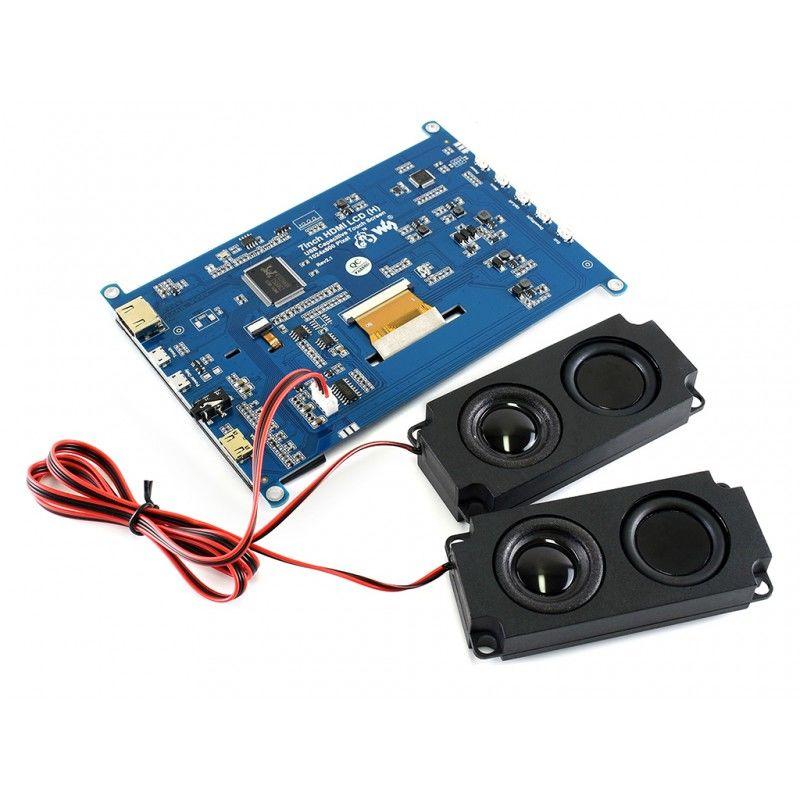 7 inch HDMI LCD (H) IPS Kapasitif Dokunmatik Ekran- 1024x600