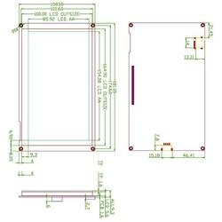 7.0 Inch Nextion HMI Display Rezistif Ekran - Dokunmatik - Thumbnail