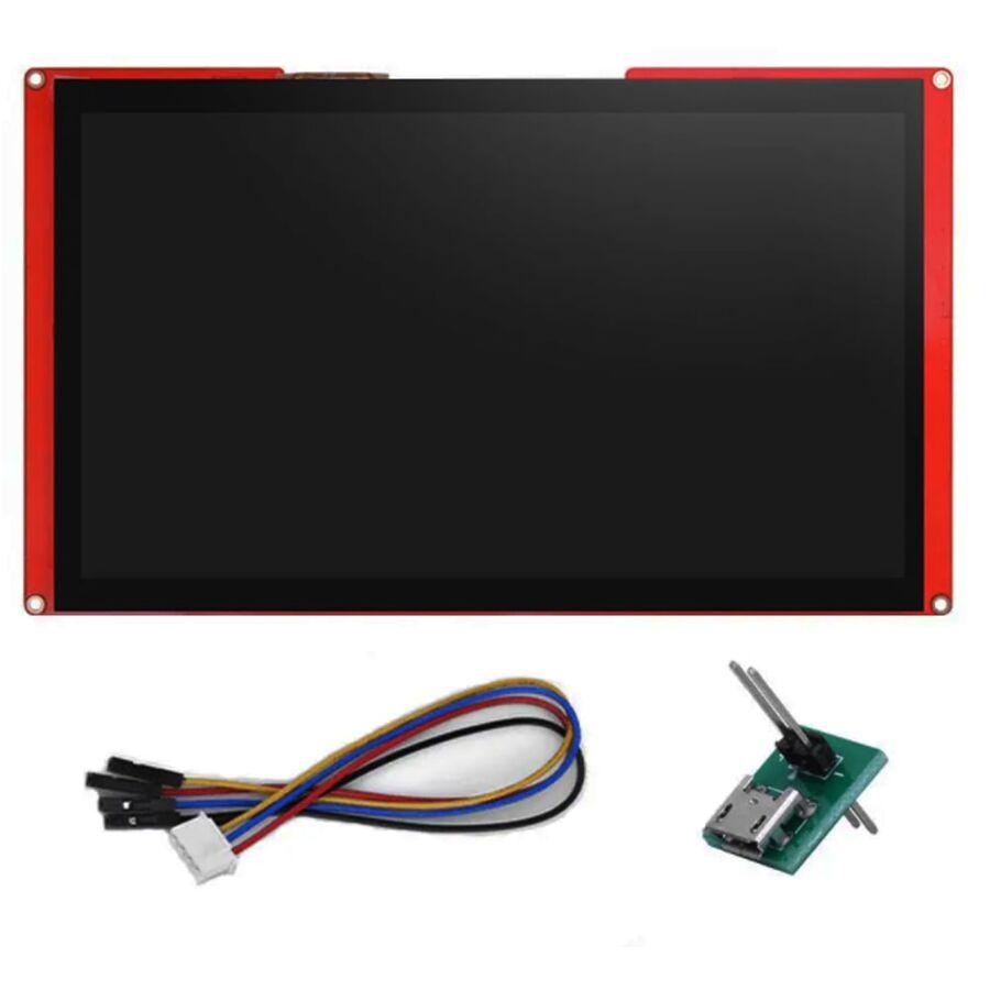 10.1 Inch Nextion HMI Display Rezistif Ekran - Dokunmatik