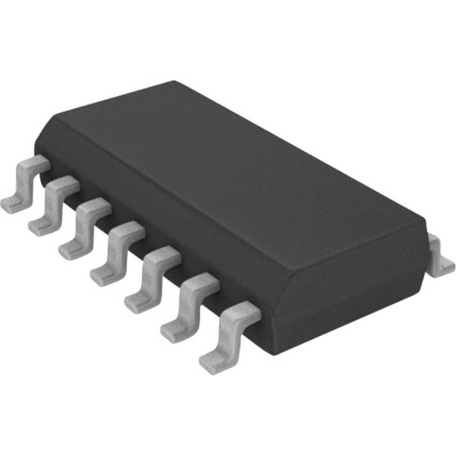 74HC154 SOIC-24 SMD 4 - 16 Line Decoder / Demultiplexer Entegresi