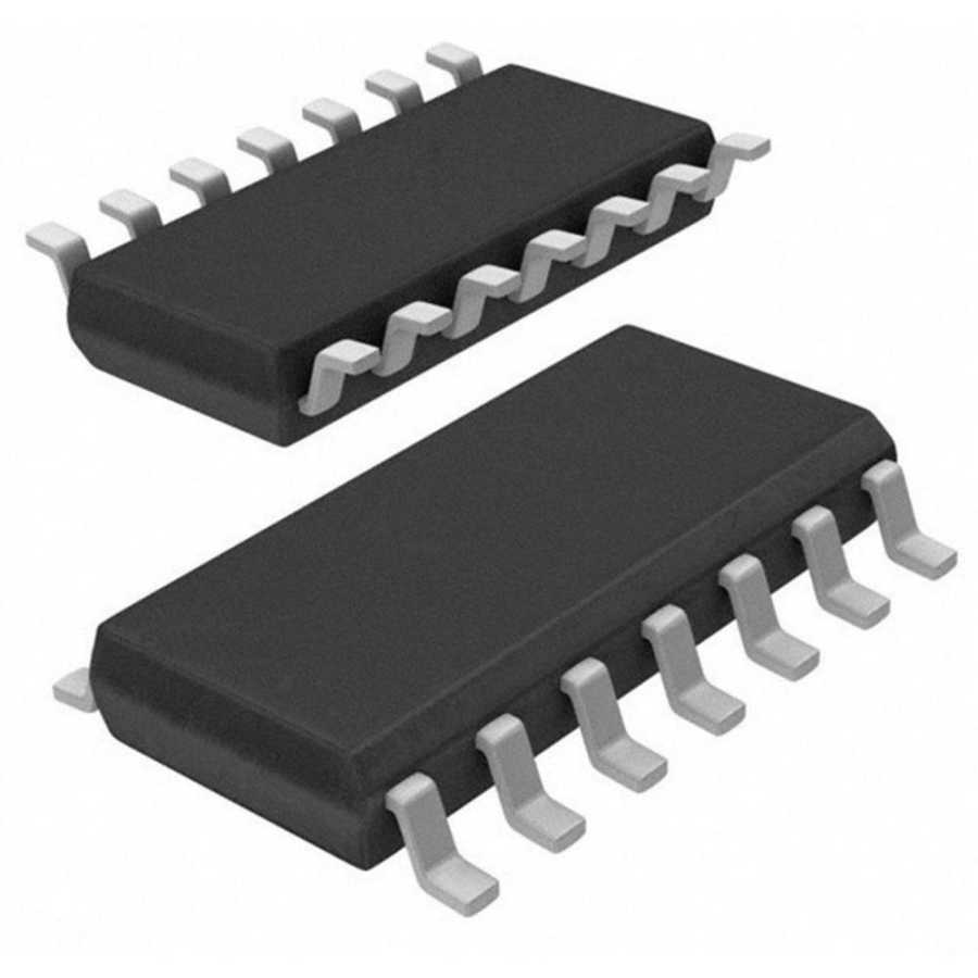 74HC20 SOIC-14 SMD Invertör ve Kapı Entegresi