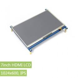 7inch HDMI LCD-Raspberry Pi Uyumlu 1024×600-IPS - Thumbnail