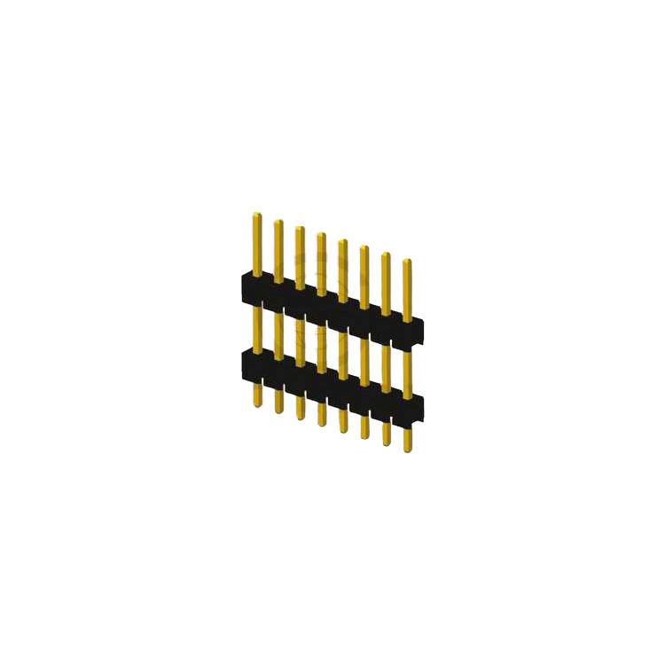 8 Pin (1x8) 2.54mm 2 Katlı Erkek Pin Header