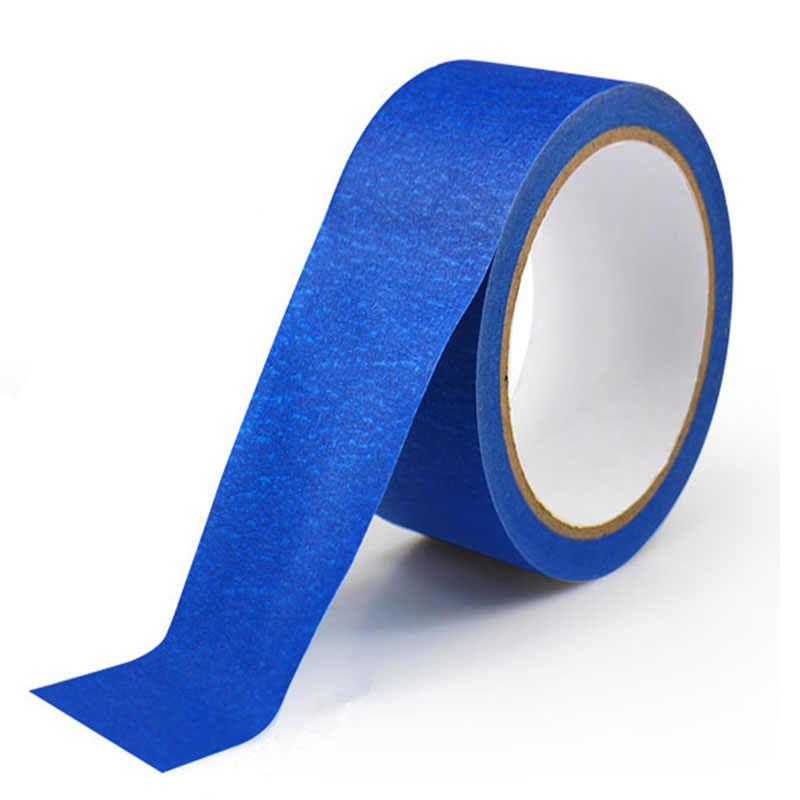 80 mm X 30 M Mavi Bant Ressamlar baskı Maskeleme Aracı Reprap 3D Yazıcı