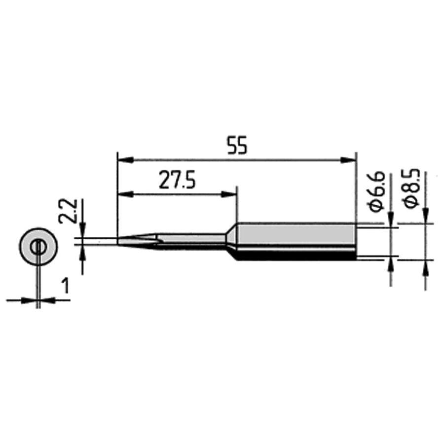 832KD Havya Ucu 8.5mm