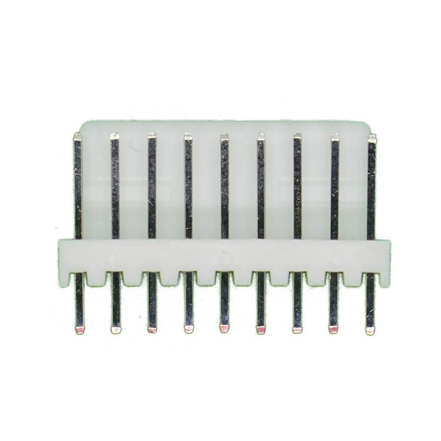 9 Pin Tunik Konnektör Erkek 2.54mm 180C