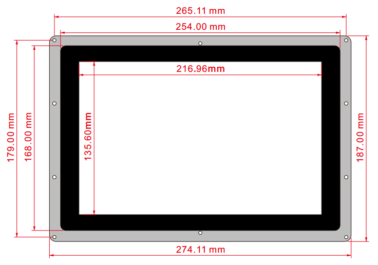 10.1inch-HDMI-LCD-B-with-Holder-size