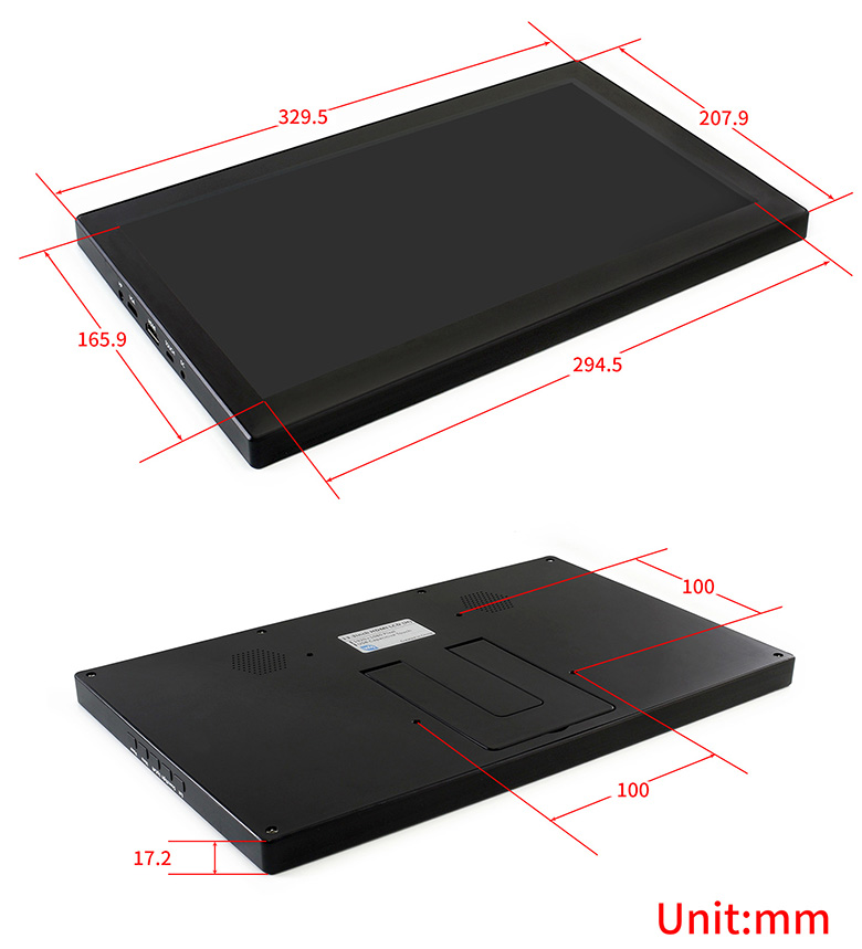 13.3inch-HDMI-LCD-H-with-Holder-V2-size