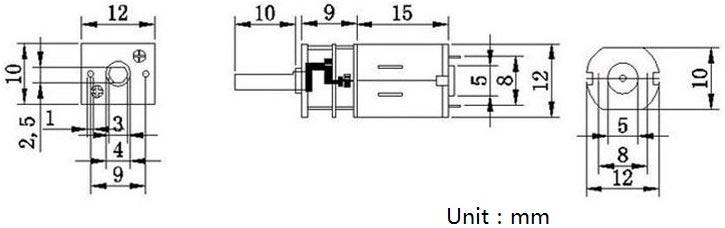 Mikro DC Motor