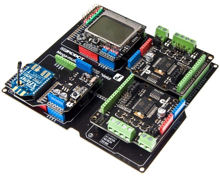 Arduino Mega IO Genişletme Kartı - Arduino Due IO Expansion Board