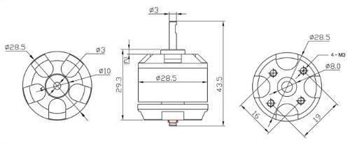 EMA Fırçasız Motor Şema