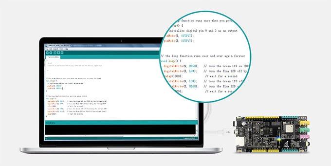Fireduino: Arduino IDE Programlama Uyumu