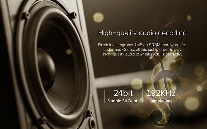 Fireduino: Audio Decode