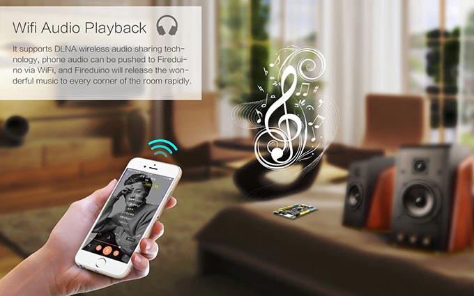 Fireduino: Wifi Audio Playback