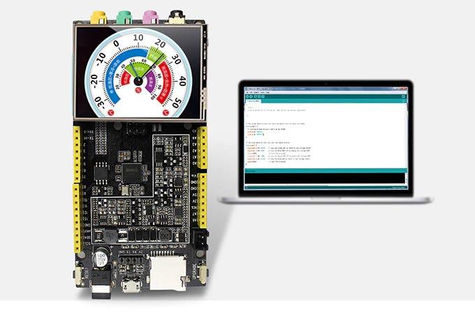 Fireduino: LCD Desteği