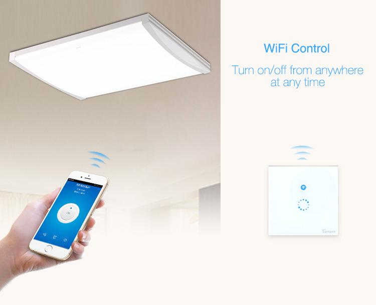 Kablosuz ve Dokunmatik Işık Anahtarı Sonoff