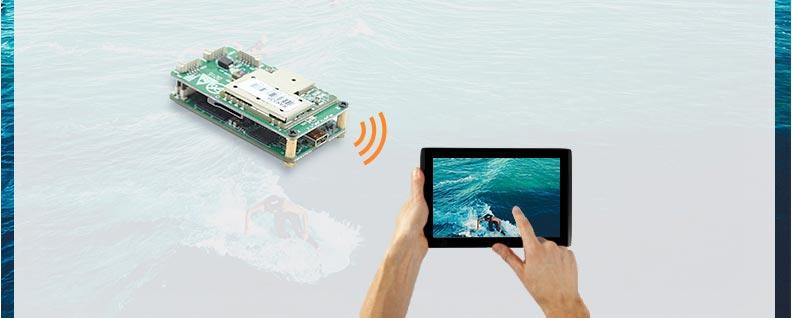 Wifi Kablosuz Video Aktarıcı - Video Alıcı ve Verici Modül 02