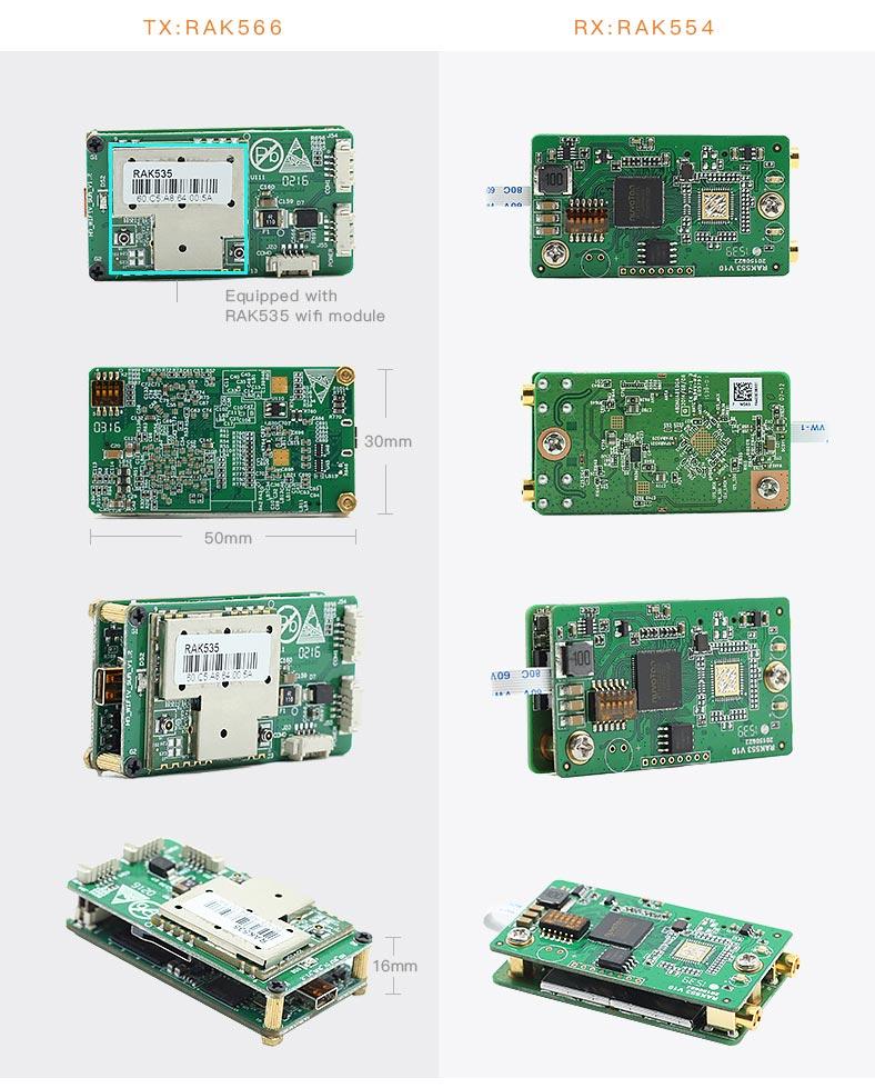 Wifi Kablosuz Video Aktarıcı - Video Alıcı ve Verici Modül 04