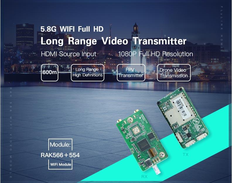 Wifi Kablosuz Video Aktarıcı - Video Alıcı ve Verici Modül 06