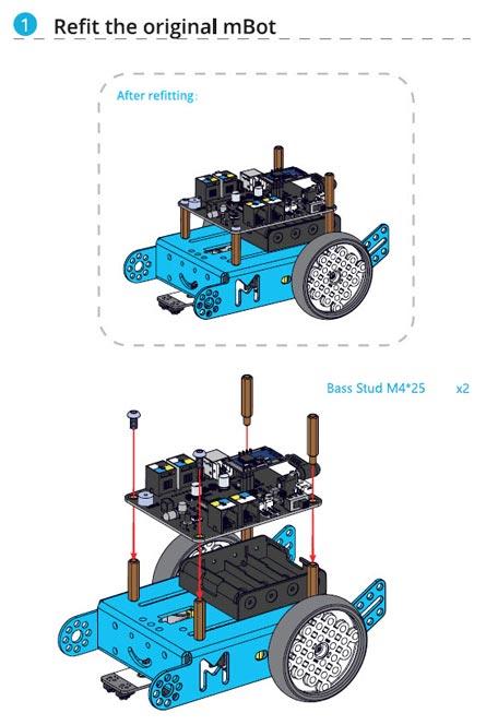 mBot Servo Paketi Kurulumu Nasıl Yapılır? - 001