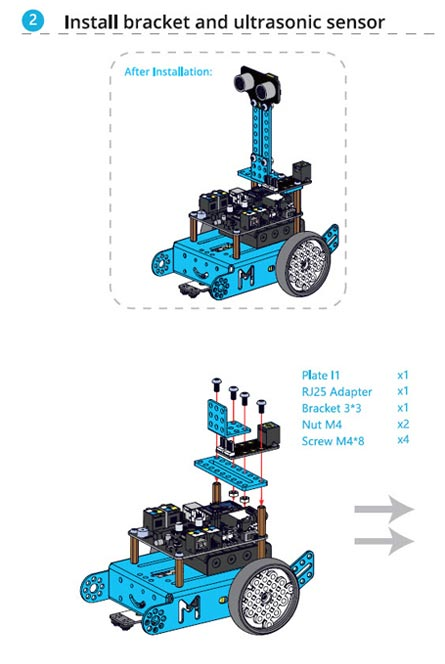 mBot Servo Paketi Kurulumu Nasıl Yapılır? - 002
