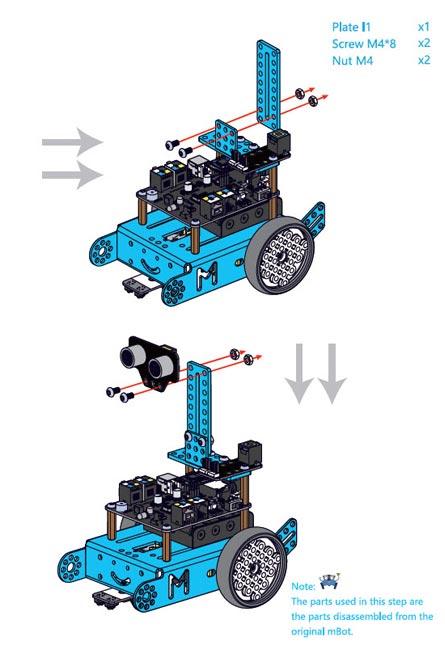 mBot Servo Paketi Kurulumu Nasıl Yapılır? - 003