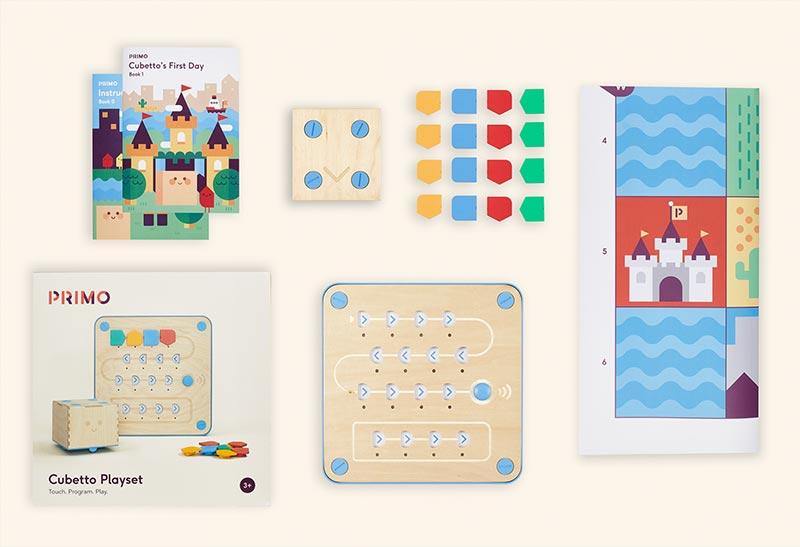 Programlama - Robotik Kodlama Oyuncakları - Çocuklar için STEM Eğitim Kiti - Cubetto 06
