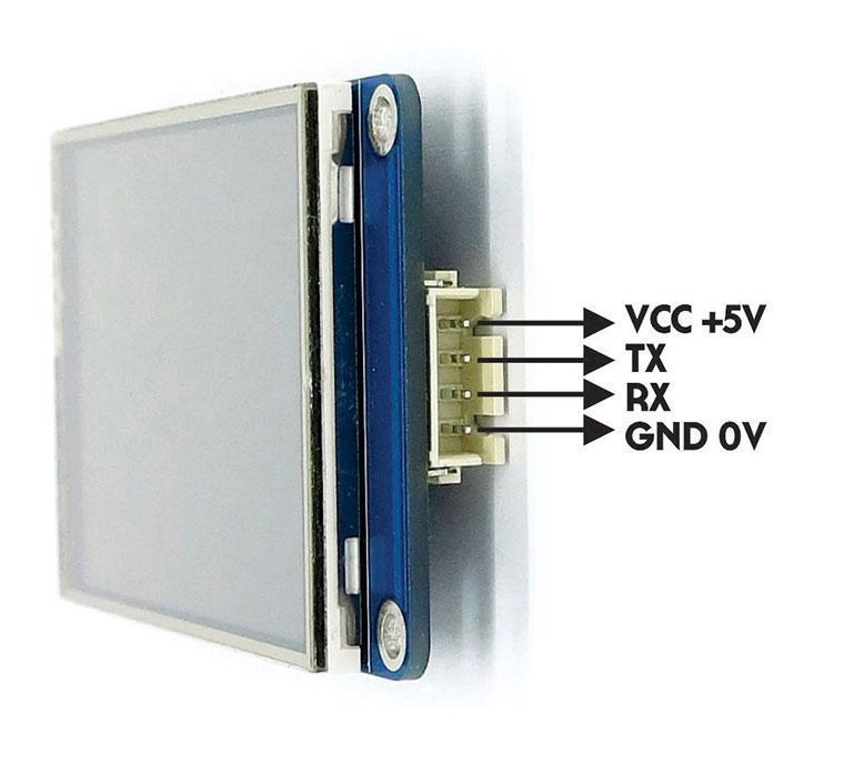 Nextion HMI Akıllı TFT LCD Ekran 3