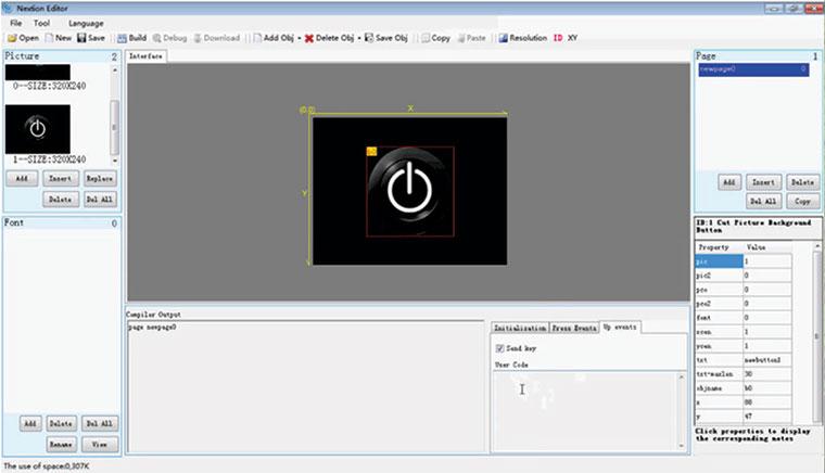 Nextion HMI Akıllı TFT LCD Ekran 1