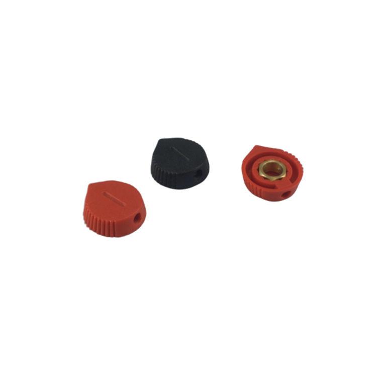 A-111 Siyah Pot Düğmesi (5.8x18x5.8) - 25 Adet