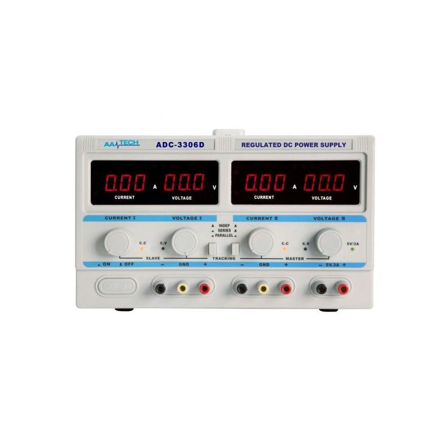 AATech ADC-3306D DC 0-5A / 0-30V Ayarlı Güç Kaynağı - Power Supply - Yüksek Hassasiyetli