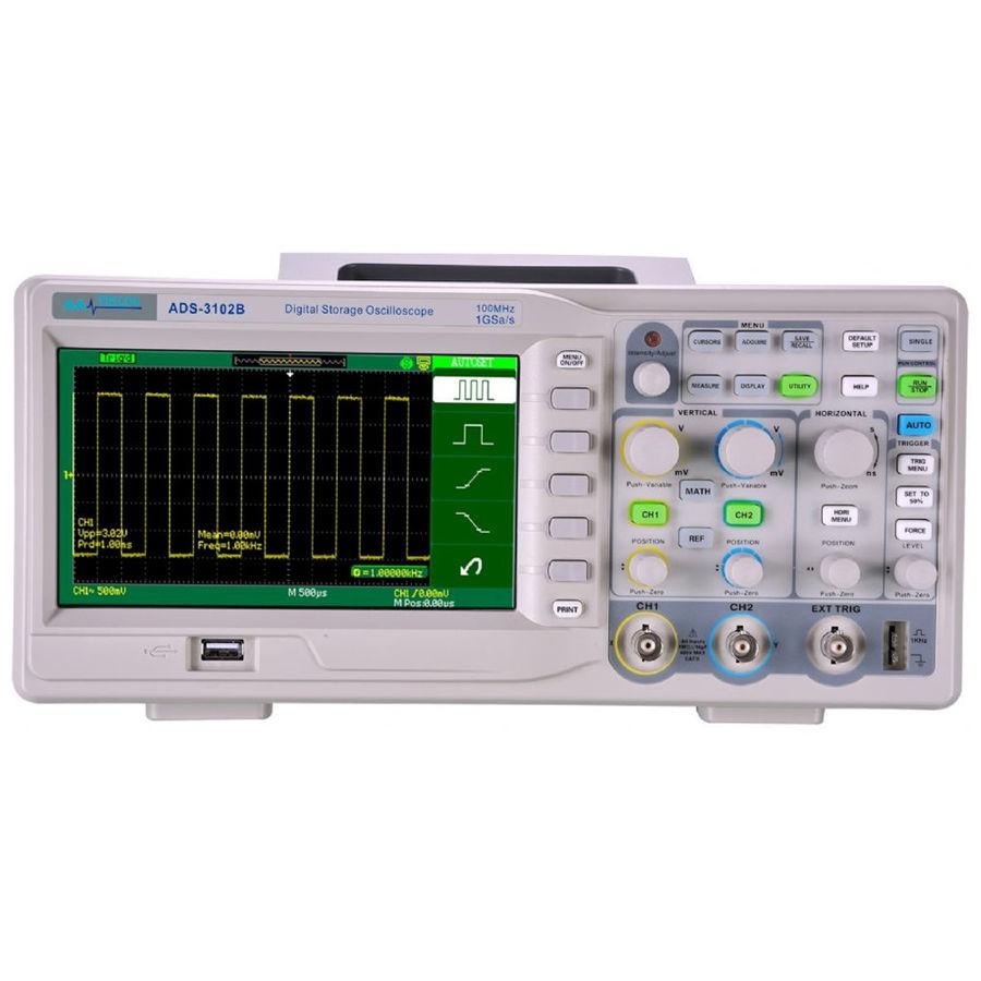 AATech ADS-3102B - Dijital Osiloskop(100MHz, 2 Kanal)