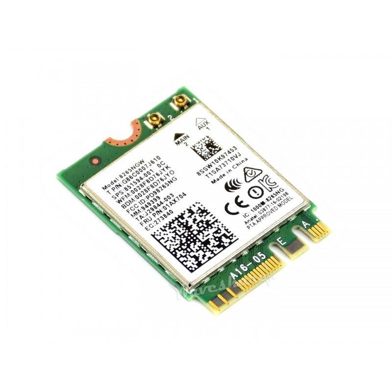AC8265 Jetson Nano için Kablosuz NIC, WiFi / Bluetooth
