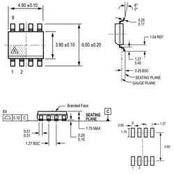 ACS712-20A Smd Akım Sensörü Entegresi Soic-8 - Thumbnail