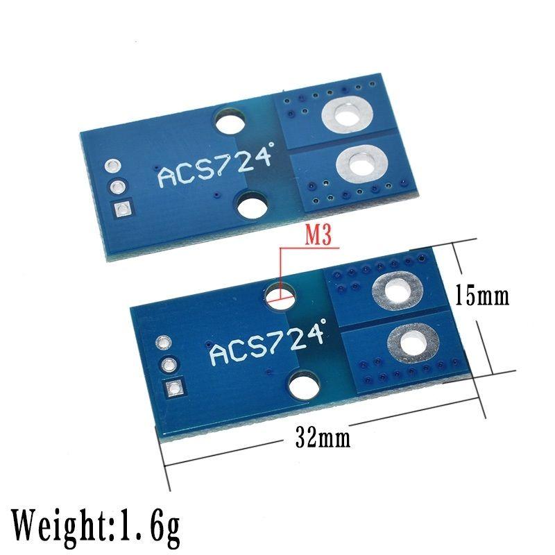 ACS724 - 50A - Hall Akım Sensör Modülü