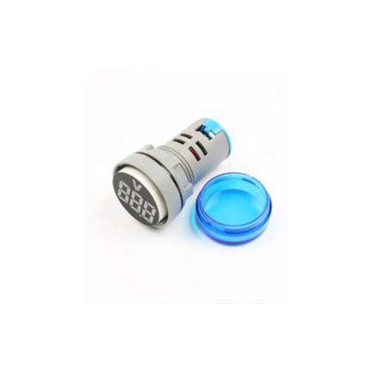 AD-116 Voltmetre - 24V - 450V - Mavi