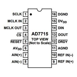 AD7715ANZ Analog Dijital Çevirici Entegresi Dip-16 - Thumbnail