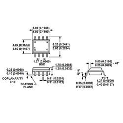 AD822A Smd OpAmp Entegresi Soic-8 - Thumbnail