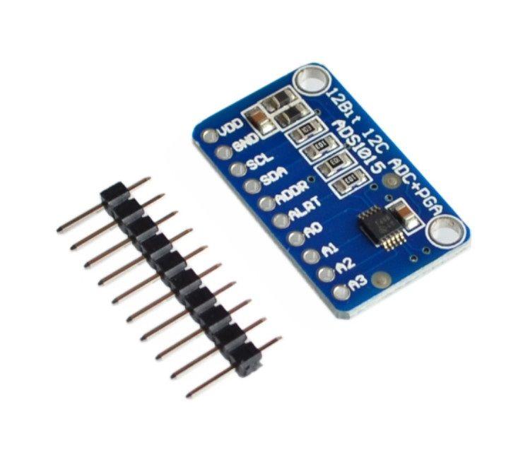 ADS1015 4 Kanal 12 Bit ADC Programlanabilir Kazanç Amplifikatörü