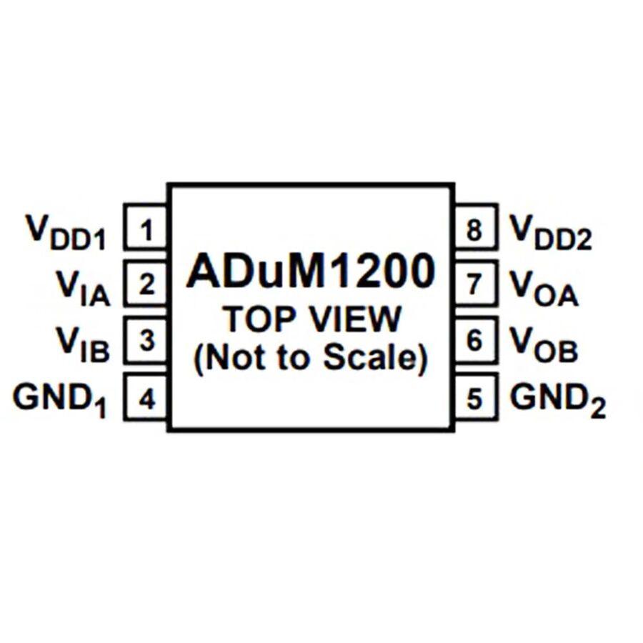 ADUM1200ARZ 2 Kanal İzolatör Entegresi Soic8