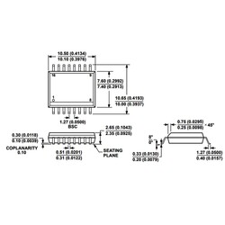 ADUM1311ARWZ-RL 3 Kanal İzolatör Entegresi Soic-16 - Thumbnail