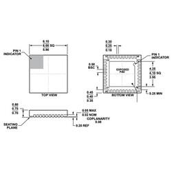 ADV7393BCPZ Smd Encoder Entegresi Lfcsp40 - Thumbnail