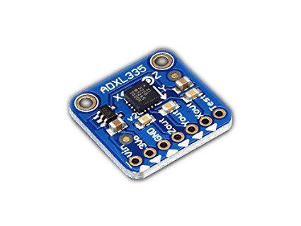 ADXL335 - 5V Uyumlu Üç Eksenli İvmeölçer (+-3G Analog Çıkışlı)